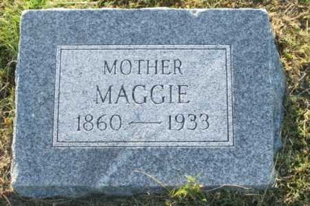 BICKNELL WHITNEY, MAGGIE - Frontier County, Nebraska | MAGGIE BICKNELL WHITNEY - Nebraska Gravestone Photos
