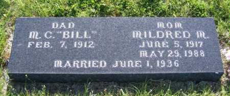 "WIDICK, M.C. ""BILL"" - Frontier County, Nebraska | M.C. ""BILL"" WIDICK - Nebraska Gravestone Photos"