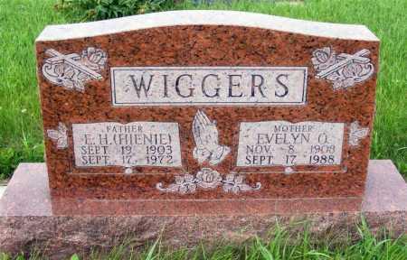 WIGGERS, E.H. (HIENIE) - Frontier County, Nebraska | E.H. (HIENIE) WIGGERS - Nebraska Gravestone Photos