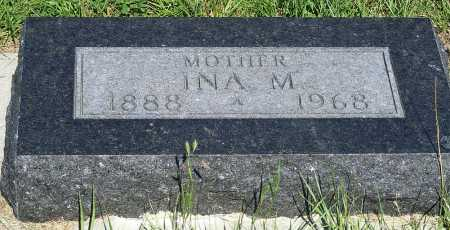 STONER WILCOX, INA M. - Frontier County, Nebraska | INA M. STONER WILCOX - Nebraska Gravestone Photos