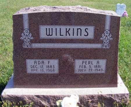 WILKINS, ADA F. - Frontier County, Nebraska   ADA F. WILKINS - Nebraska Gravestone Photos
