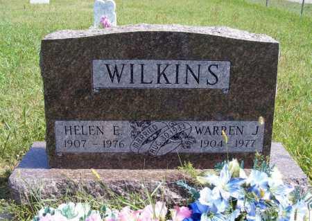 WILKINS, HELEN E. - Frontier County, Nebraska | HELEN E. WILKINS - Nebraska Gravestone Photos