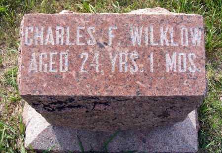 WILKLOW, CHARLES F. - Frontier County, Nebraska | CHARLES F. WILKLOW - Nebraska Gravestone Photos