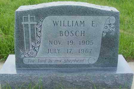 BOSCH, WILLIAM EUGENE - Frontier County, Nebraska | WILLIAM EUGENE BOSCH - Nebraska Gravestone Photos