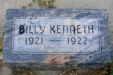 WILLIAMS, BILLY KENNETH - Frontier County, Nebraska | BILLY KENNETH WILLIAMS - Nebraska Gravestone Photos
