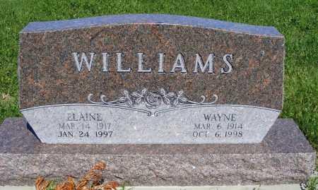 WIDICK WILLIAMS, ELAINE - Frontier County, Nebraska   ELAINE WIDICK WILLIAMS - Nebraska Gravestone Photos