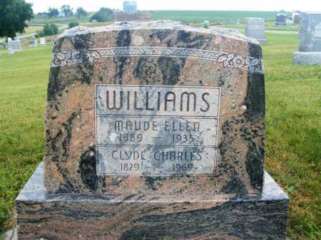 WILLIAMS, CLYDE CHARLES - Frontier County, Nebraska | CLYDE CHARLES WILLIAMS - Nebraska Gravestone Photos