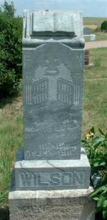 WILSON, HENRY - Frontier County, Nebraska | HENRY WILSON - Nebraska Gravestone Photos