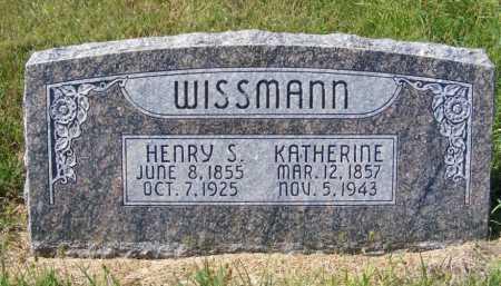 WISSMANN, KATHERINE - Frontier County, Nebraska | KATHERINE WISSMANN - Nebraska Gravestone Photos