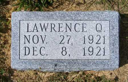 WOLF, LAWRENCE Q. - Frontier County, Nebraska | LAWRENCE Q. WOLF - Nebraska Gravestone Photos