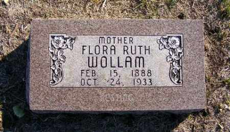 POWELL WOLLAM, FLORA RUTH - Frontier County, Nebraska | FLORA RUTH POWELL WOLLAM - Nebraska Gravestone Photos