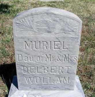 WOLLAM, MURIEL - Frontier County, Nebraska | MURIEL WOLLAM - Nebraska Gravestone Photos