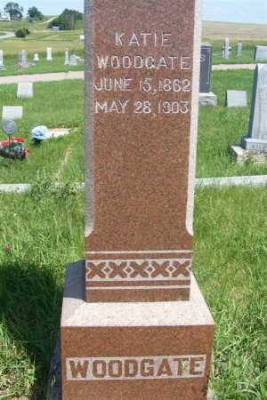 WOODGATE, KATIE - Frontier County, Nebraska   KATIE WOODGATE - Nebraska Gravestone Photos