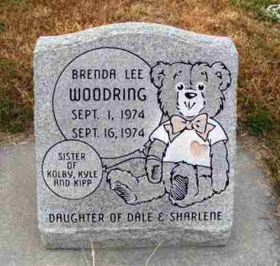 WOODRING, BRENDA LEE - Frontier County, Nebraska | BRENDA LEE WOODRING - Nebraska Gravestone Photos