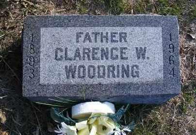 WOODRING, CLARENCE W. - Frontier County, Nebraska | CLARENCE W. WOODRING - Nebraska Gravestone Photos