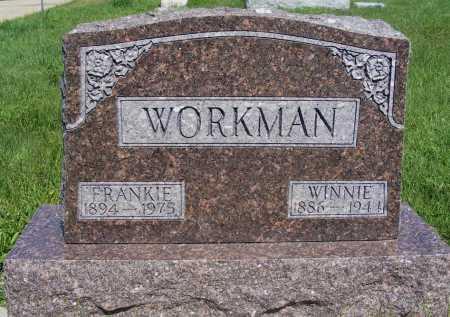 WORKMAN, FRANKIE - Frontier County, Nebraska | FRANKIE WORKMAN - Nebraska Gravestone Photos