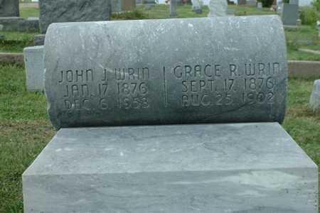 WRIN, JOHN J. - Frontier County, Nebraska | JOHN J. WRIN - Nebraska Gravestone Photos