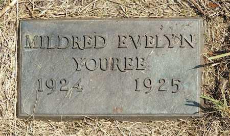 YOUREE, MILDRED EVELYN - Frontier County, Nebraska | MILDRED EVELYN YOUREE - Nebraska Gravestone Photos