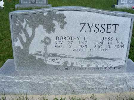 MEYER ZYSSET, DOROTHY T. - Frontier County, Nebraska | DOROTHY T. MEYER ZYSSET - Nebraska Gravestone Photos