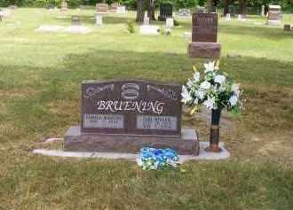 BRUENING, GEMISCA - Furnas County, Nebraska | GEMISCA BRUENING - Nebraska Gravestone Photos