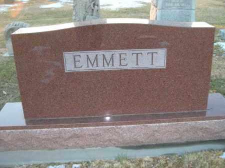 EMMETT, FAMILY STONE - Furnas County, Nebraska | FAMILY STONE EMMETT - Nebraska Gravestone Photos