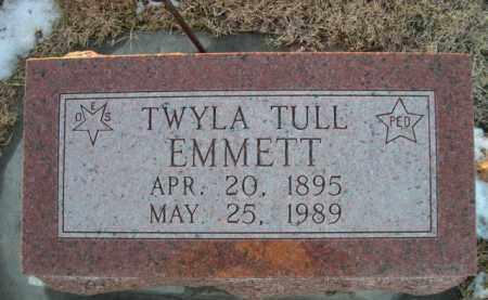 EMMETT, TWYLA - Furnas County, Nebraska | TWYLA EMMETT - Nebraska Gravestone Photos