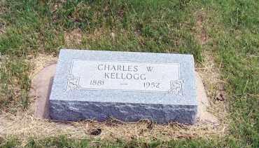 KELLOGG, CHARLES W. - Furnas County, Nebraska | CHARLES W. KELLOGG - Nebraska Gravestone Photos