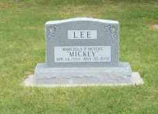 "MEYERS LEE, MARCELLA ""MICKEY"" - Furnas County, Nebraska 