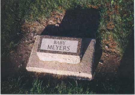 MEYERS, BABY - Furnas County, Nebraska   BABY MEYERS - Nebraska Gravestone Photos