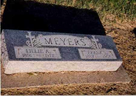 MEYERS, LILLIE - Furnas County, Nebraska | LILLIE MEYERS - Nebraska Gravestone Photos