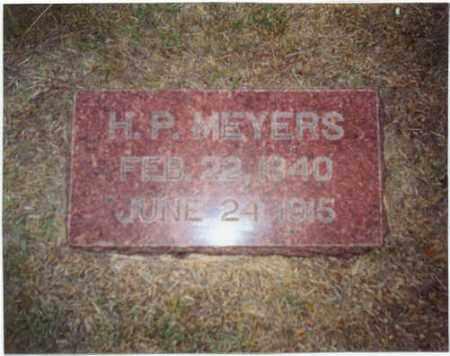 MEYERS, HENRY P. - Furnas County, Nebraska | HENRY P. MEYERS - Nebraska Gravestone Photos