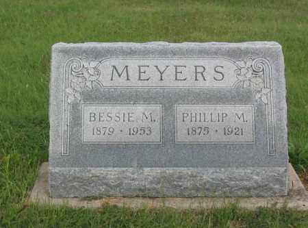 MEYERS, PHILLIP M. - Furnas County, Nebraska | PHILLIP M. MEYERS - Nebraska Gravestone Photos