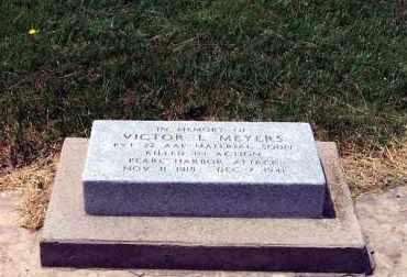 MEYERS, VICTOR - Furnas County, Nebraska   VICTOR MEYERS - Nebraska Gravestone Photos