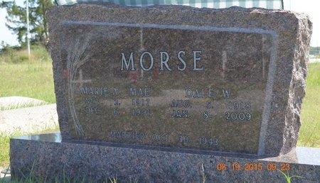 MORSE, DALE WHEAT - Furnas County, Nebraska | DALE WHEAT MORSE - Nebraska Gravestone Photos