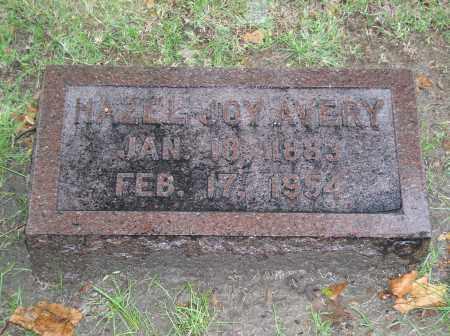 AVERY, HAZEL JOY - Gage County, Nebraska   HAZEL JOY AVERY - Nebraska Gravestone Photos