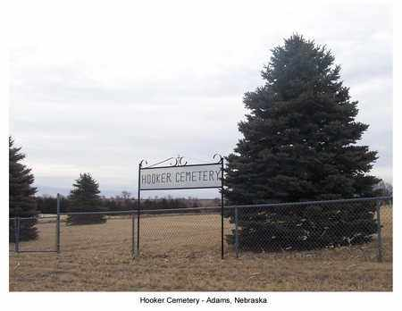 *HOOKER CEMETERY, SIGN FOR - Gage County, Nebraska | SIGN FOR *HOOKER CEMETERY - Nebraska Gravestone Photos