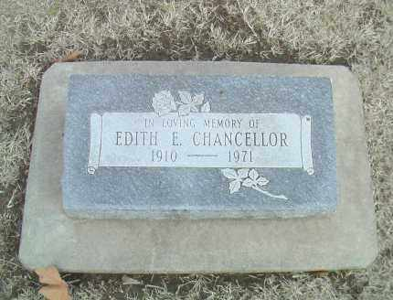 CHANCELLOR, EDITH E. - Gage County, Nebraska | EDITH E. CHANCELLOR - Nebraska Gravestone Photos