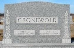 GRONEWOLD, WILM J - Gage County, Nebraska | WILM J GRONEWOLD - Nebraska Gravestone Photos