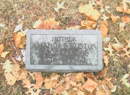 HUSTON, AMANDA F. - Gage County, Nebraska | AMANDA F. HUSTON - Nebraska Gravestone Photos