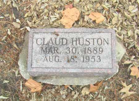 HUSTON, CLAUD - Gage County, Nebraska | CLAUD HUSTON - Nebraska Gravestone Photos