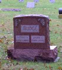 MUDGE, LAURA E. - Gage County, Nebraska | LAURA E. MUDGE - Nebraska Gravestone Photos
