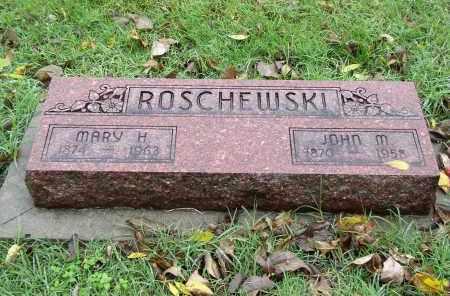 ROSCHEWSKI, MARY H. - Gage County, Nebraska | MARY H. ROSCHEWSKI - Nebraska Gravestone Photos