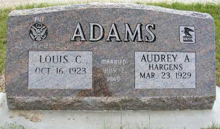 HARGENS ADAMS, AUDREY A. - Garden County, Nebraska | AUDREY A. HARGENS ADAMS - Nebraska Gravestone Photos