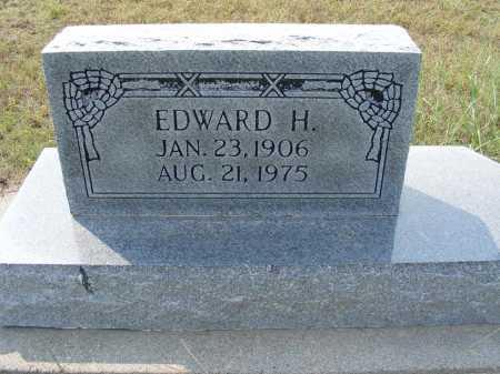 AHLEMEYER, EDWARD H. - Garden County, Nebraska | EDWARD H. AHLEMEYER - Nebraska Gravestone Photos