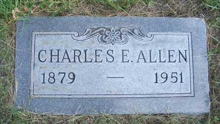 ALLEN, CHARLES E. - Garden County, Nebraska | CHARLES E. ALLEN - Nebraska Gravestone Photos