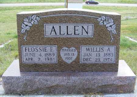 ALLEN, WILLIS A. - Garden County, Nebraska | WILLIS A. ALLEN - Nebraska Gravestone Photos