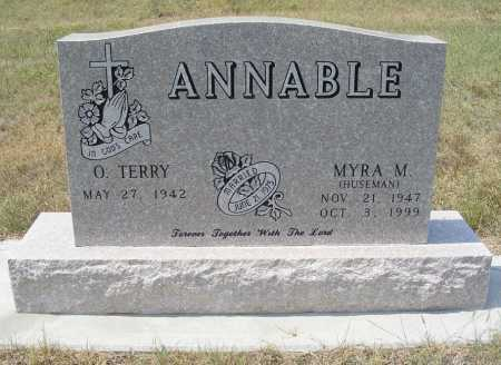 ANNABLE, O.TERRY - Garden County, Nebraska | O.TERRY ANNABLE - Nebraska Gravestone Photos