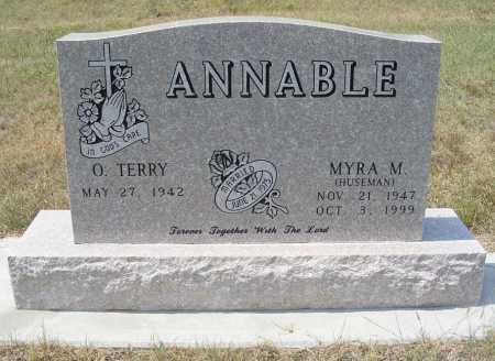 ANNABLE, O.TERRY - Garden County, Nebraska   O.TERRY ANNABLE - Nebraska Gravestone Photos