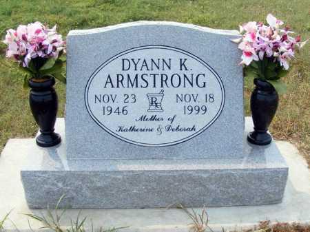 ARMSTRONG, DYANN K. - Garden County, Nebraska | DYANN K. ARMSTRONG - Nebraska Gravestone Photos