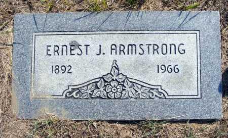 ARMSTRONG, ERNEST J. - Garden County, Nebraska | ERNEST J. ARMSTRONG - Nebraska Gravestone Photos